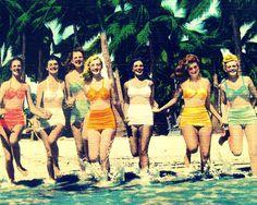vintage beach photo print. vintage and the beach = favorites!