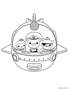 lots of octonauts printables -- make a coloring book? | Octonauts ...