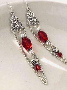 A personal favorite from my Etsy shop https://www.etsy.com/listing/574078832/heart-earrings-silver-heart-earrings