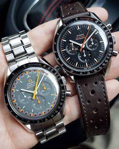 Omega Speedmaster, Metal Bracelets, Famous Brands, Omega Watch, Watches For Men, Orange, Leather, Racing, Japan