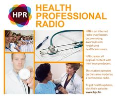 Health Professional Radio (HPR) is looking for new producers and talents and be part of the growing community of health professionals that shares medical knowledge, experiences and testimonies. If you are interested, send them your inquiries to press@hpr.fm. #HPR #HealthProfessionals #HealthRadio