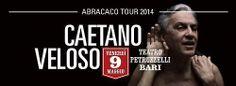 """http://ift.tt/1hctcgH Unica tappa al sud Italia per """"Abracaco Tour"""" di Caetano Veloso il 9 Maggio 2014 al Teatro Petruzzelli. http://ift.tt/1hctdRN pugliaspettacoliedeventi.com"""