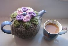 English Rose Tea Cozy by Sian Brown