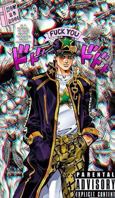 Fondos de pantalla JJBA - Jotaro Kujo #5 - Wattpad Jojos Bizarre Adventure Jotaro, Jojo's Bizarre Adventure Anime, Manga Anime, Manga Art, Jojo Stands, Japon Tokyo, Jojo Anime, Jojo's Adventure, Jojo Parts