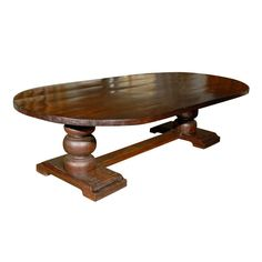 Reclaimed Wood Dining Table   From a unique collection of antique and modern dining room tables at http://www.1stdibs.com/furniture/tables/dining-room-tables/
