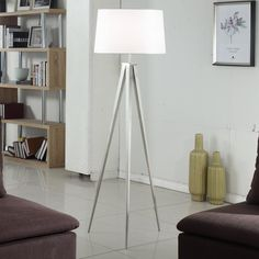 "Hollywood 63"" Tripod Floor Lamp 