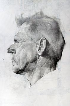 Old drawings on Behance by Nikolay Karelin
