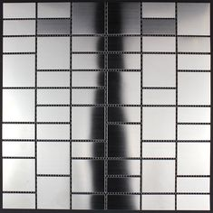 stainless steel tiles kitchen and bathroom mi-arg13,90 €Length: 11,61 in, Width: 29,5 cm, Thickness: 5 mm, material: Stainless steel 304, Color: gris, Chip size: 3 x 3 cm, Quantity: 1 sheet, Area: 1 sq ft, Sheet size: 11,61 x 11,61 in