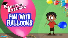 Read and understand the concept of polymers with Einstein Iyengar in #FunwithBalloons. For more #science stuff for kids, visit:  http://mocomi.com/learn/science/