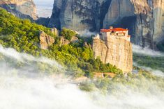 Monasteries of Meteora in Greece Just visit the place and experience the feel of heaven! Adventure Of The Seas, Life Is An Adventure, Places In Europe, Places To Visit, Champagne Region, Plitvice Lakes National Park, Plan Your Trip, Natural Wonders, Nature Photos