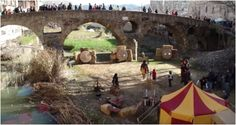 Medieval fair in the medieval town
