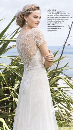 Maggie Sottero Amal | Issue 91 Bride and Groom Magazine | Available from Astra Bridal
