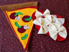 fun felt food at Fiskers! So cute and so fun to make yourself! Directions included!