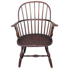 18th Century Sack Back Windsor Armchair
