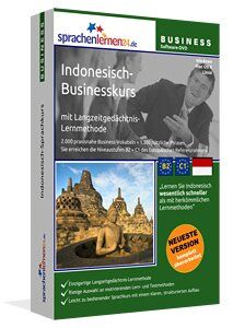 Business-Indonesisch Sprachkurs - Sprachelernen24 Drei komplette Business-Indonesisch Sprachkurs mit den Schwerpunkten berufliches Grundwissen, Bewerben & Arbeiten in Indonesien Audio-Vokabeltrainer ...  Sprachelernen24