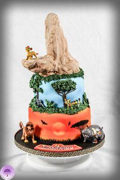 Lion Guard Birthday Cake Jack S 7th Bday Pinterest