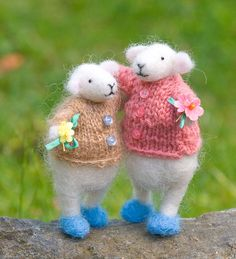 sheep in sweaters...