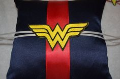 Wonder Woman  Ring pillow by BridalBliss2000 on Etsy