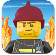 Believe it or not, Lisa R. has actually procured a date with this fireman from LEGO City Fire Hose Frenzy, a Good Free App of the Day.
