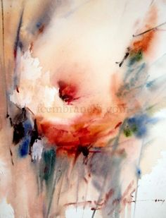 Wet in Wet Demo, Spain- 2012, painting by artist Fabio Cembranelli