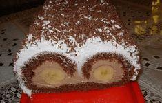 postup: Vejce si ušleháme s cukrem do pěny, pak přimícháme kakao, ořechy a vymícháme jednotné těsto, které rovnoměrně navrstvíme na plech vyložený papírem a vložíme do vyhřáté trouby. Pečeme při teplotě 180 stupňů dozlatova. Upečené těsto srolujeme a necháme vychladnout v papíru. Z mléka, pudinků a cukru (nebo medu) uvaříme hustý pudink. Necháme vychladnout a …
