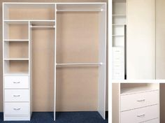 Bedroom Closet Design Built In Wardrobe Shelves 50 Ideas Bedroom Closet Design, Master Bedroom Closet, Bedroom Wardrobe, Wardrobe Design, Small Room Bedroom, Closet Designs, Trendy Bedroom, Bedroom Storage, Spare Room
