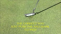 Hawk's View Golf Club Ballmark Repair