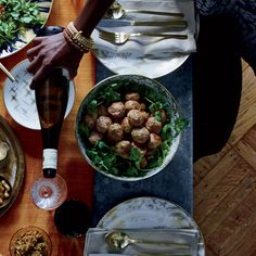 From spicy deviled eggs to a juicy rosemary-pepper beef rib roast, here are New Year's Eve recipes for a crowd. ...