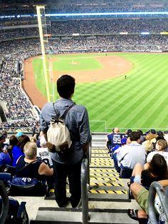 Yankees vs Mets!! 🏈 #kjøre #NY #newyork #usa #football #sport #yankees #mets #kjoreproject #photo #canon #instagram #friends #igers #handmade #wallets #accessories #vibram #shoes #backpacks #denim #canvas #wool #newzealand #natural #evolution #leather #love #minimal #design @kjoreproject