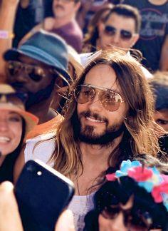 Jared Leto Coachella 2014- Day 2