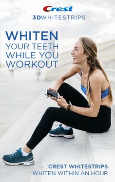 379668dbf9 Get noticeably whiter teeth in the time it takes you to workout