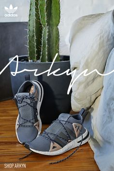 More than a sneaker, Arkyn is an idea brought together by countless inspirations, designed for those who embrace everything they are. Learn more at adidas.com.