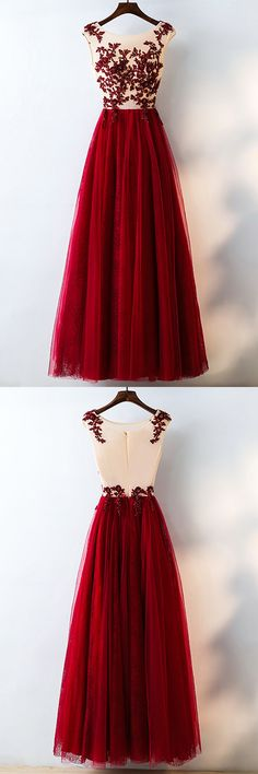 Only $118, Prom Dresses Formal Red Sequined Tulle Prom Dress Long With Lace #MYX18040 at #GemGrace. View more special Bridal Party Dresses,Prom Dresses now? GemGrace is a solution for those who want to buy delicate gowns with affordable prices, a solution for those who have unique ideas about their gowns. 2018 new arrivals, shop now to get $10 off!