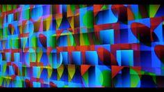 Miguel CHEVALIER La Vague des Pixels, hommage à Auguste Herbin, (version courte, short version) from Claude Mossessian.  Un film de Claude Mossessian © Claude Mossessian