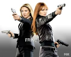 Olivia & Faux-livia ~ two of my favorite characters ever played by the same actress, the remarkable Anna Torv Fringe Tv Series, Fringe Tv Show, Anna Torv, Fringe Olivia, Science Fiction, Emission Tv, Sci Fi Tv Series, Sci Fi News, Entertainment