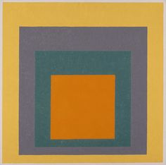 Homage to the Square Josef Albers (Germany, active Munich, and United States, 1933-1976, 1888-1976)