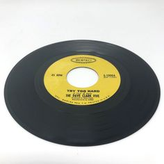 1966 Collectible Epic Label 45 RPM Vinyl Record The Dave Clark Five Try To Hard  #1960s