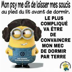 "Search results for ""citation des minions travail"" Minions Images, Minions Quotes, Jokes Quotes, Funny Quotes, Memes, Citation Minion, Minion Talk, Minion Humour, Lol"
