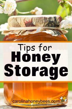 Tips for How to Store Honey for maximum freshness. Pure Honey, Raw Honey, Honey Bees, Honey Recipes, Snack Recipes, Snacks, Eating Raw, Healthy Eating, Cooking With Honey