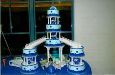 quinceanera cakes  | This cake was for a co workers sister. The cake is frosted in Frostin ...