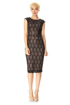Angela Lace Dress - Dresses - French Connection