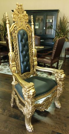 85 Best Big Throne Chairs Images In 2019 Throne Chair