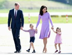 After five jam-packed days of their royal tour in Poland and Germany, the royal family is heading home to London