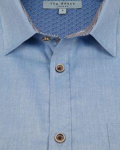 Oxford shirt - Blue | Shirts | Ted Baker