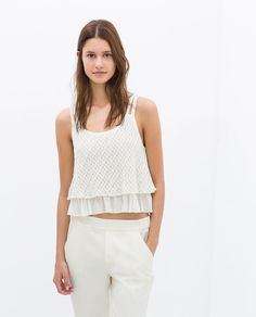 Image 2 of STRAPPY TOP from Zara