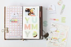 A Scrapbook Layout and A Traveler's Note Layout with Live More – Pinkfresh Studio