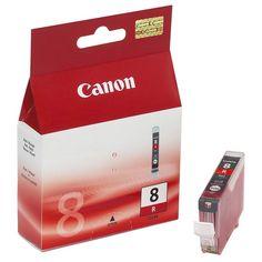 Canon CLI-8R inktcartridge rood (origineel)  |  Originele Canon CLI-8R inktcartridge rood. De kleuren rood en groen zijn toegevoegd aan de standaardkleuren om een groter kleurenspectrum te creëren, waardoor Uw foto's nog levensechter lijken.