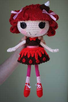 PATTERN Lalaloopsy Choco Whirl Swirl Crochet by epickawaii on Etsy, $3.99