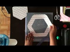 Creative Memories Hexagon Custom Cutting System Review - YouTube