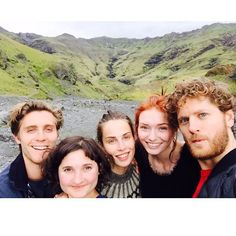 Poldark cast in Iceland Poldark Tv Series, Poldark Cast, Poldark 2015, Demelza Poldark, Ross Poldark, Aidan Turner Funny, Aiden Turner, British Actresses, Actors & Actresses